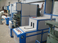 Semi-Automatic Pet Stretch Blow Moulding Machine