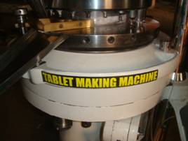 Tablet Forming Unit